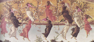 anges ronde botticelli